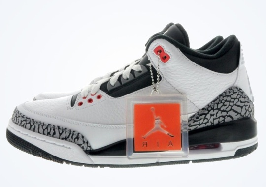 "Air Jordan 3 ""Infrared 23"" – Available Early on eBay"