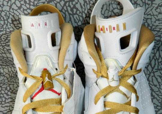 "Air Jordan 6 ""Golden Moments"" – Alternate Sample"