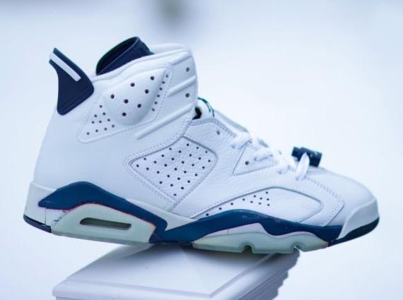 """Air Jordan 6 """"Midnight Navy"""" Sample on eBay - SneakerNews.com"""