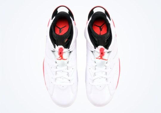 """Air Jordan 6 """"White/Infrared"""" – Arriving at Retailers"""