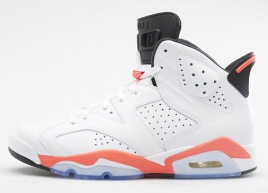 "Air Jordan 6 ""White/Infrared"" – Nikestore Release Info"