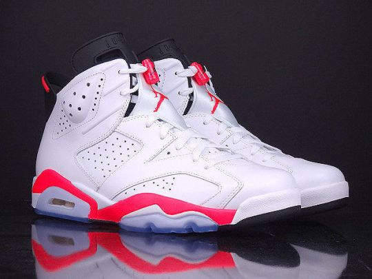 "Air Jordan 6 ""White/Infrared"" – Release Reminder"