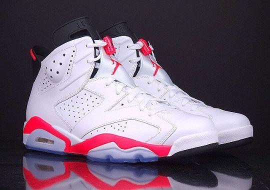 """Air Jordan 6 """"White/Infrared"""" – Release Reminder"""