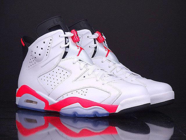 """Air Jordan 6 """"White/Infrared"""" - Release Reminder ..."""