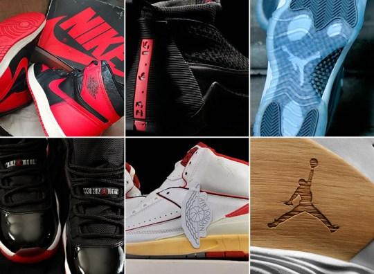 A Look Back at Significant Materials on Air Jordans