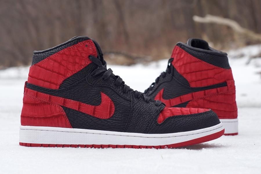watch 7590d 32a38 JBF Customs Goes Shark and Croc for New Air Jordan 1 - SneakerNews.com