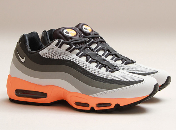 188ecacda6 outlet Nike Air Max 95 No-Sew Light Base Grey Summit White Iron ...