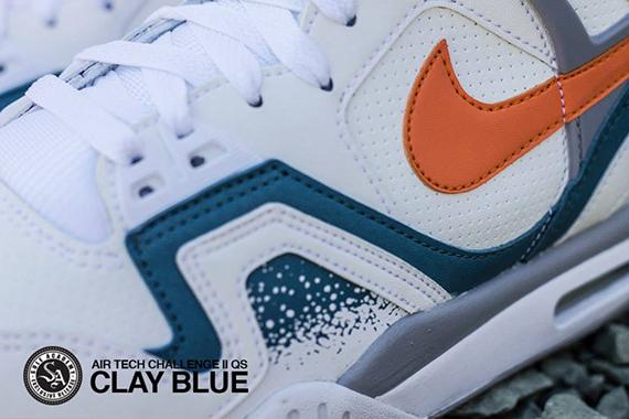 Nike Air Tech Challenge Ii Qs Clay Blue Sneakernews Com