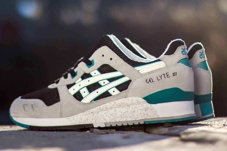 cc0b385f210a Asics Gel Lyte III - Grey - Black - Teal - SneakerNews.com