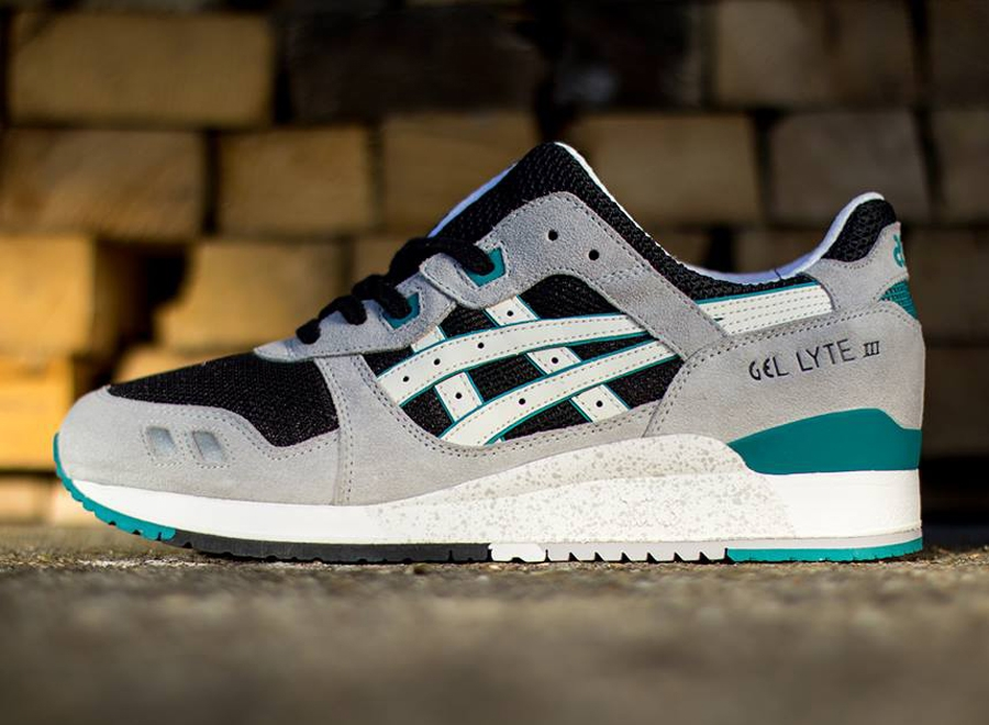 official photos e59c8 05e05 Asics Gel Lyte III - Grey - Black - Teal - SneakerNews.com