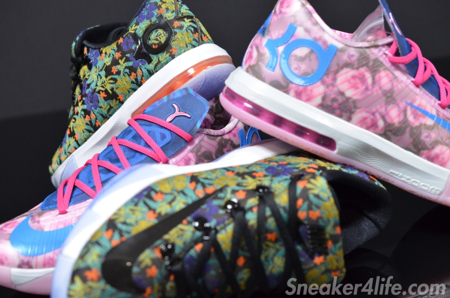 f9f8701f8964 Aunt Pearl vs. EXT  Battle of the Floral Nike KD 6 - SneakerNews.com