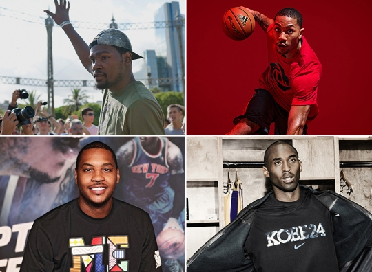The Best Selling NBA Signature Sneaker Athletes