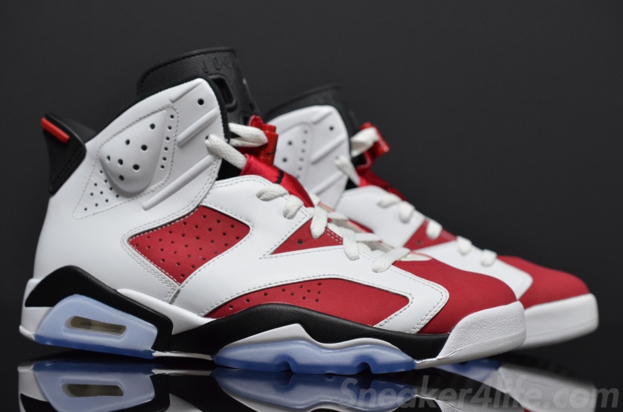 "sports shoes fdf89 17c7d Air Jordan 6 ""Carmine"" Color  White Carmine-Black Style Code  384664-160.  Release Date  05 24 14. Price   170"