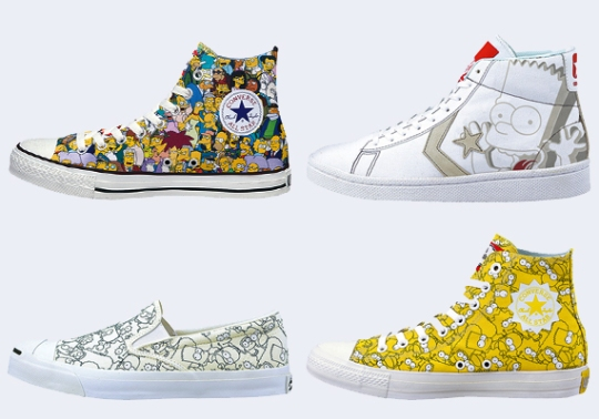 The Simpsons x Converse – Spring 2014 Collection