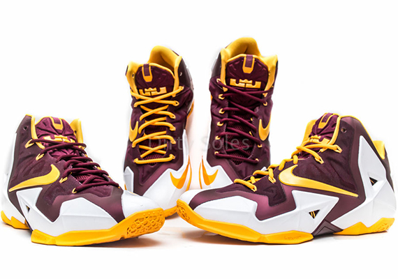 "best sneakers a7b21 18382 ""Christ the King"" Nike LeBron 11 PE"
