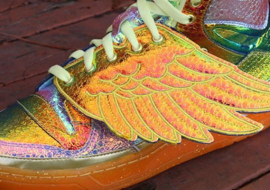 "Jeremy Scott x adidas Originals JS Wings ""Gold Foil"""