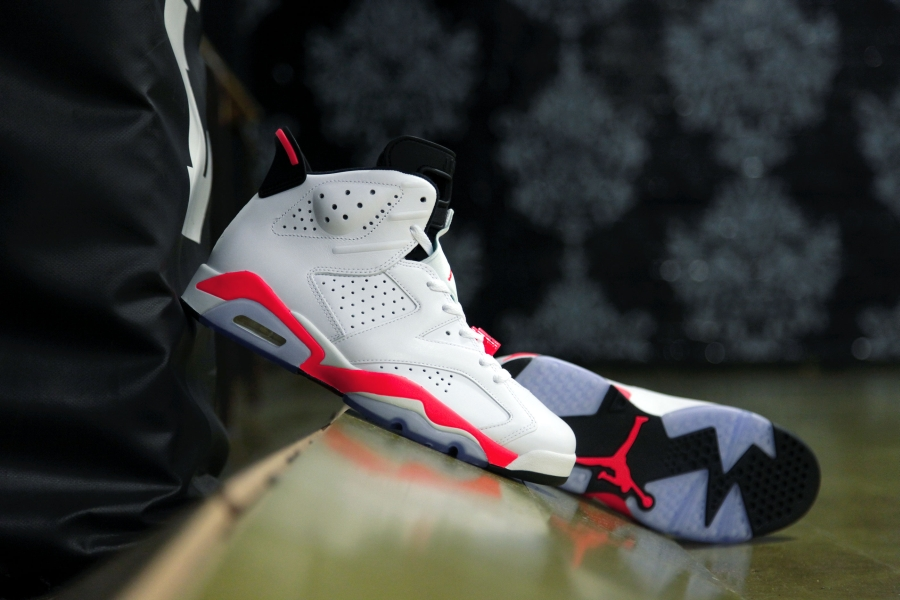 fced8235fbd612 ... get air jordan 6 white infrared retro returns four years later  sneakernews 72a59 ed4d3