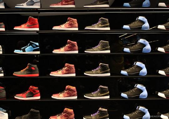 A Look Inside Jordan Brand's Flight 23 Retail Store in NYC