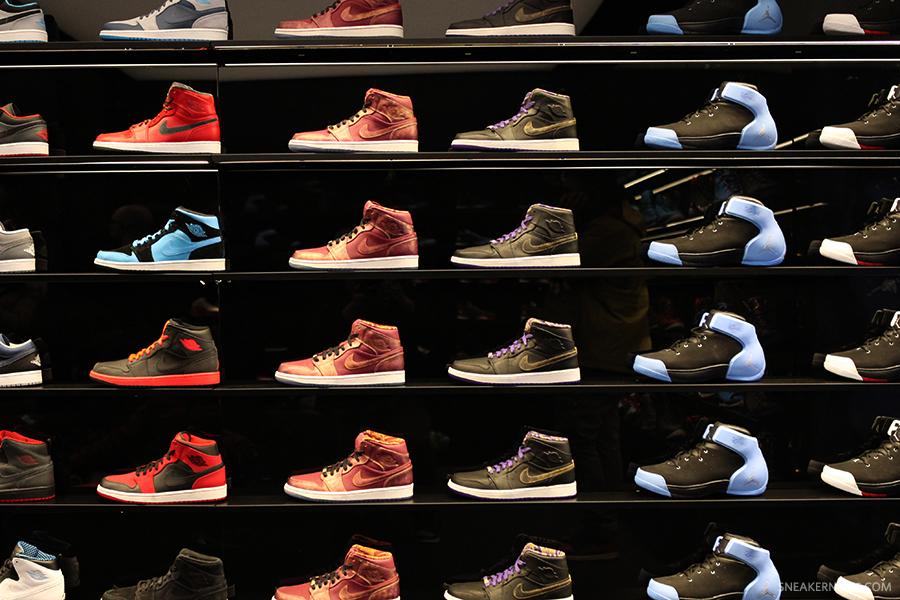 68edcae0abdddd A Look Inside Jordan Brand s Flight 23 Retail Store in NYC - SneakerNews.com