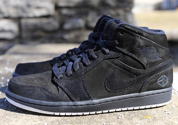 nike air jordan 1 mid suits and sneakers