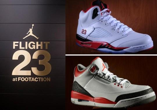 """Jordan Brand Flight 23 NYC Restocks """"Fire Red"""" Air Jordans"""