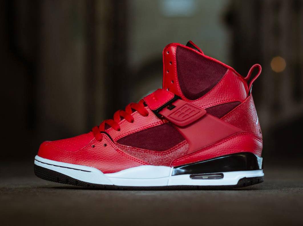 air jordan flight 45 high gym reds