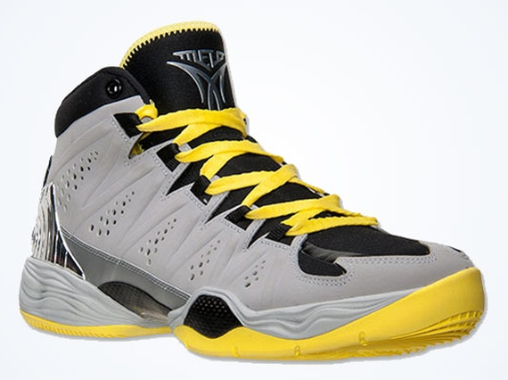 newest 30360 cc52e Jordan Melo M10 - Metallic Silver - Black - Volt - SneakerNews.com