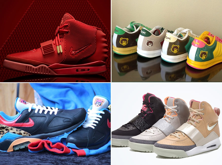 A History of Kanye West s Sneaker Collabs - SneakerNews.com 00d64232a2