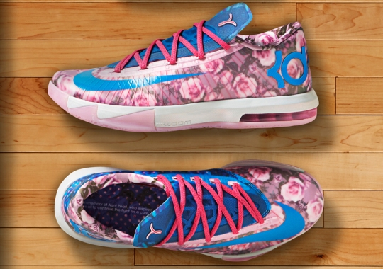 Nike Honors Aunt Pearl with the Floral KD 6