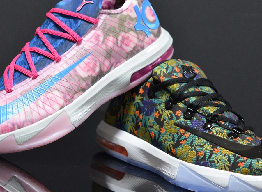 6d4eb18119a4 Aunt Pearl vs. EXT  Battle of the Floral Nike KD 6