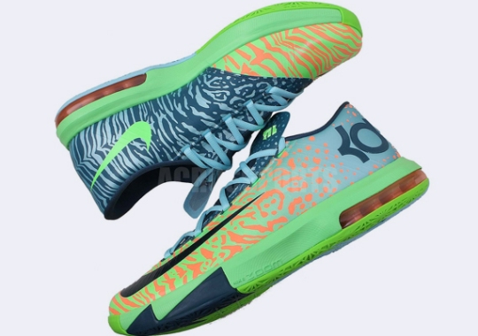 "Nike KD 6 ""Liger"" – Available Early on eBay"