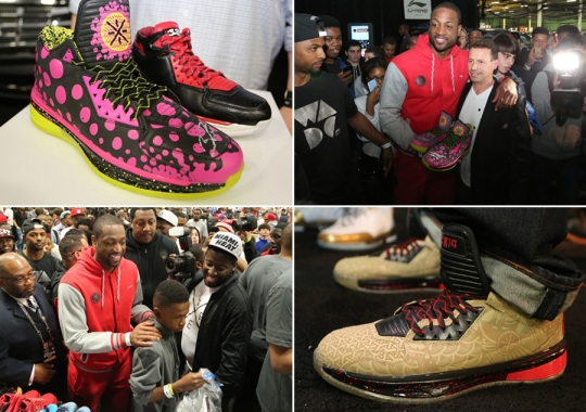 Li-Ning 2014 All-Star Weekend at Sneaker Con New Orleans