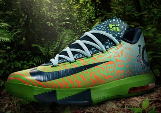 """Nike KD 6 """"Liger"""" – Official Images"""