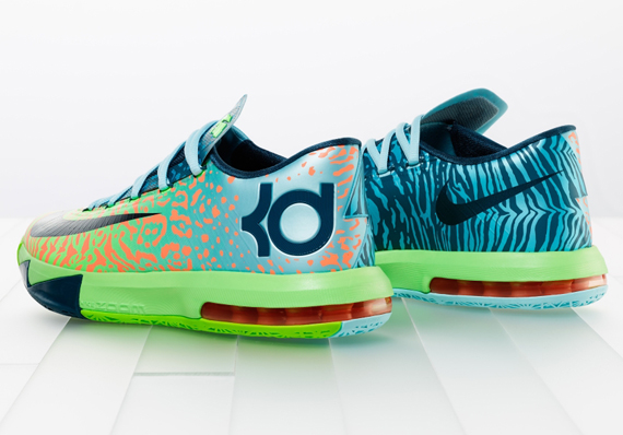 The Nike KD 6 Home is now available at most Shiekh Shoes stores! Stocked in mens and kids sizes, these kicks are a must-have for you and those close to