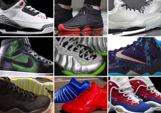 March 2014 Sneaker Releases