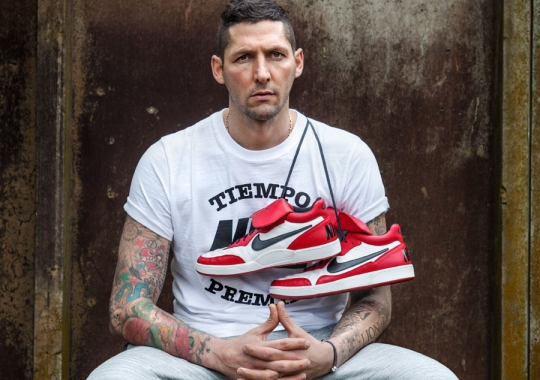Inspired by Milan and MJ: The Nike Tiempo '94 Mid Collection by Marco Materazzi