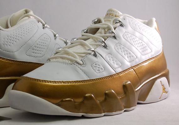 569c6a18b229 Air Jordan 9 Low - Marshall Faulk PE - SneakerNews.com