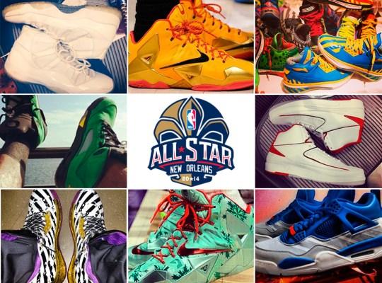 2014 Sneaker News NBA All-Stars