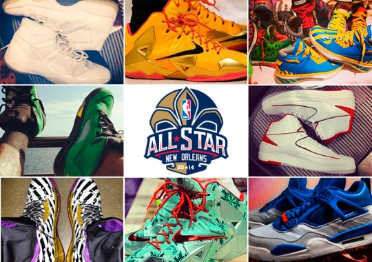2014 Sneaker News NBA All-Stars