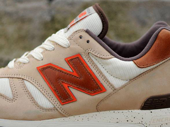 "New Balance 1300 ""Made in USA"" – Tan – White – Brown"