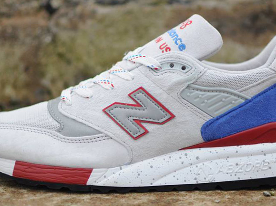 new balance 998 grey blue red