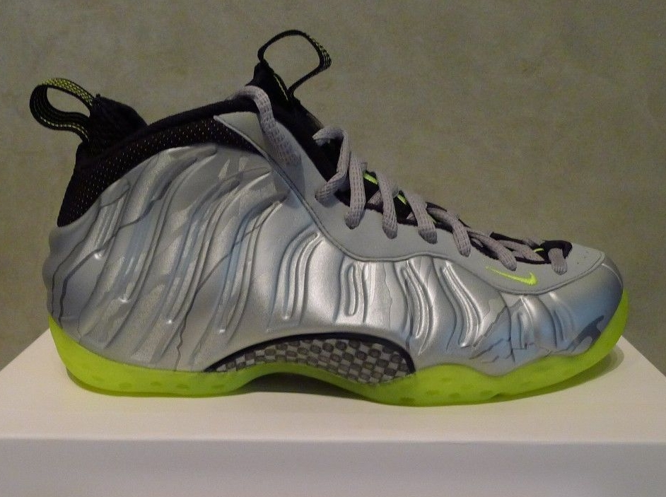 sports shoes 0cfb1 33ef9 Nike Air Foamposite One - Metallic Silver - Volt   Release Date -  SneakerNews.com
