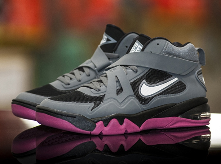 purchase cheap 842e1 9b7fa Nike Air Force Max CB2 - Cool Grey - White - Black - Vivid Pink -  SneakerNews.com