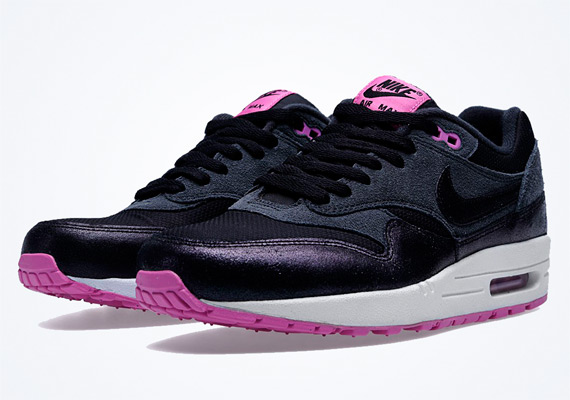 Nike Air Max 1 Essential Anthracite Red Violet