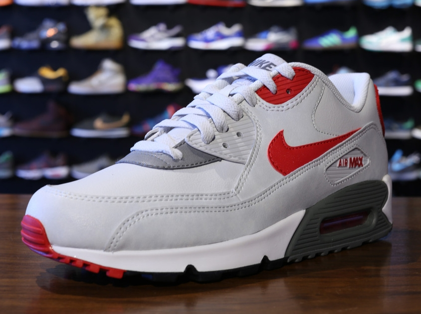 Nike Air Max 90 Essential White Lite Base Grey