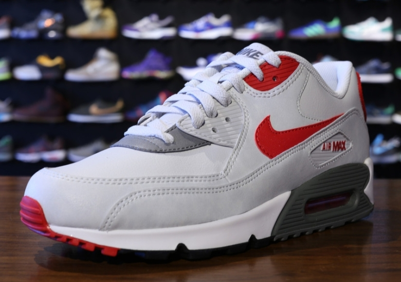 Nike Air Max 90 Essential White Lite Base Grey University