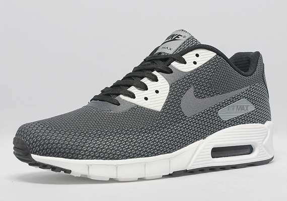 Nike Air Max 90 Jacquard Dark Grey Black Pink White