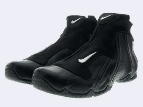 One of the most coveted Nike Air Flightposite sneakers ever will be back on  the market tomorrow. The model should more than satisfy fans of this Alpha  ...