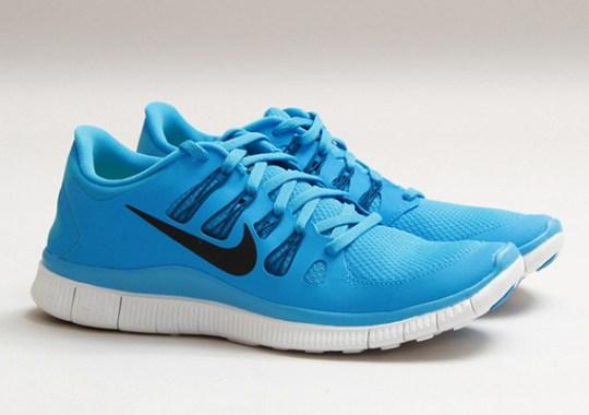 Nike Free Run 5.0+ – Vivid Blue – Black – Green Abyss