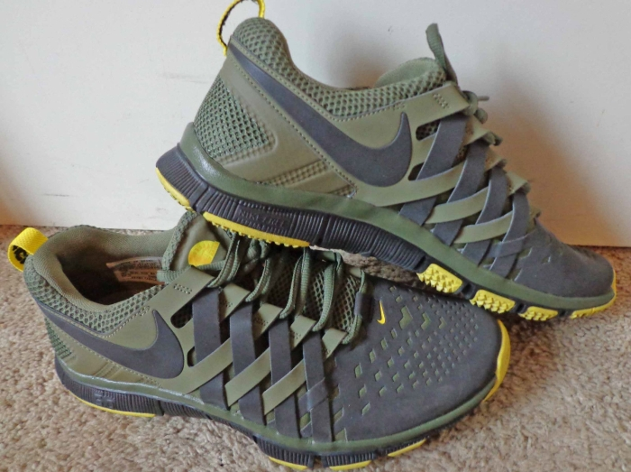 nike free run with air bubble